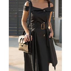 1cda3dbf6210 HEATHER BLACK DRESS 9888 59.90 €