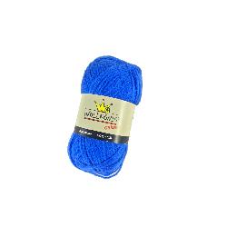 4a64a40e184 Νήμα Κλωστή χοντρή για πλέξιμο 100% Ακρυλικό 50gr-130m Χρώμα Μπλε Ηλεκτρίκ  - Cb 14362-1-526 3.90 €   oneclick.gr