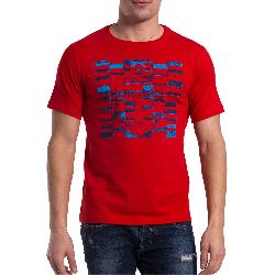 b92ebfcb079 Ανδρικό T-shirt με στάμπα The Bostonians - TS1233 - Κόκκινο 3TS1233|25  35.00 € | oneclick.gr