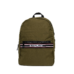 14cb516da5 Replay crinkle nylon backpack military green - fm3356-000-a0084-057 18104  100.00 €