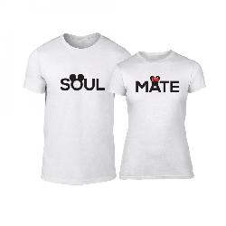 68827a74d679 Μπλουζες για ζευγάρια Soulmate λευκό 43478 20.99 € | oneclick.gr