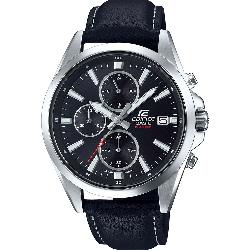 CASIO Edifice Chronograph Black Leather Strap EFV-560L-1AVUEF 164411 139.00  €  0265569d709